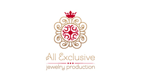 Фирменный стиль All Exclusive Jewelry Production